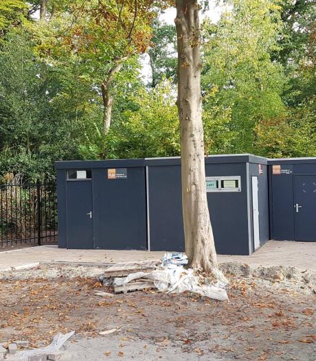 Openluchttheater Vrouwenhof heeft eindelijk zijn toiletten