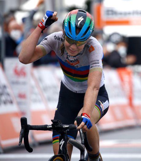 Van der Breggen voor zesde keer op rij sterkste op Muur van Hoei