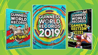 De leukste en gekste records uit The Guinness Book of Records 2019