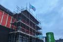 In december had de renovatie van concertgebouw De Vereeniging in Nijmegen het hoogste punt bereikt.