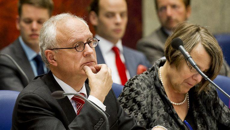 Jan de Wit (SP): 'Godslastering hoort helemaal niet in het strafrecht thuis'. Beeld ANP