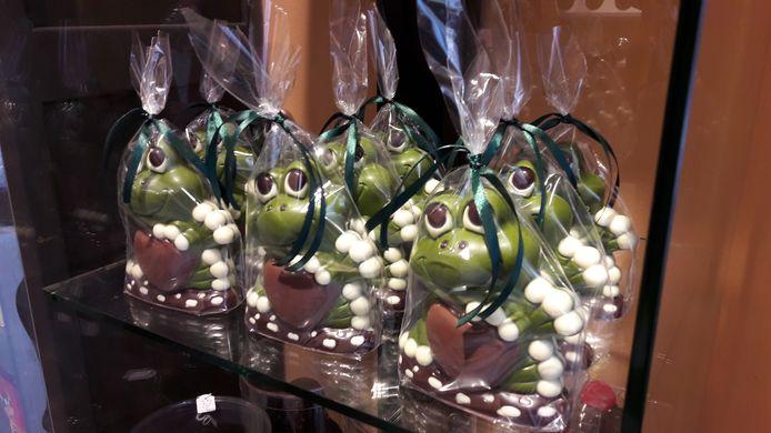 Oeteldonkkikkers: chocola van chocolatier Lotte van der Aa