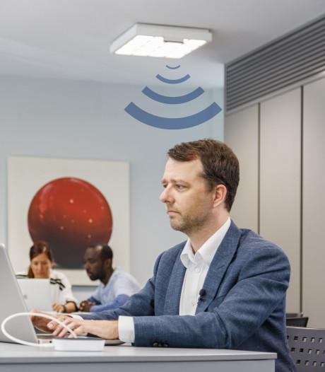 Supersnel internet via je verlichting