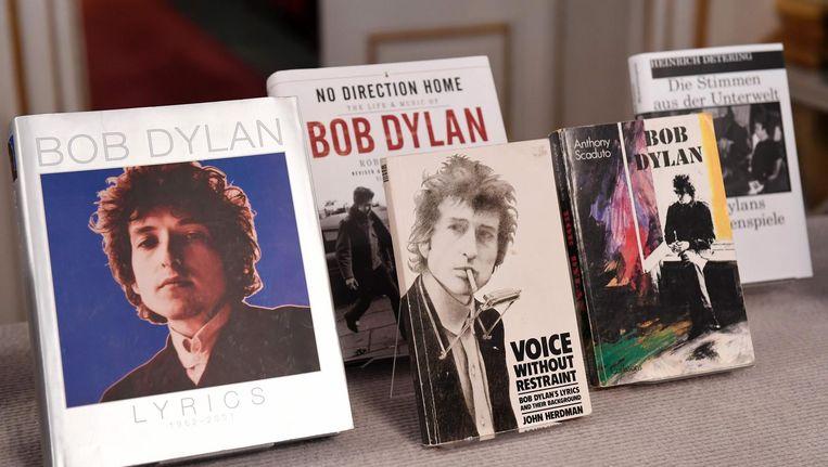 Boeken van Bob Dylan. Beeld null