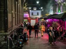 Brandgerucht bij Café Stout op de Korenmarkt blijkt rookmachine