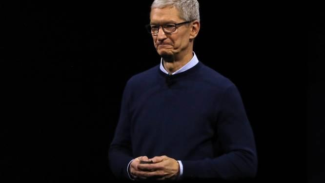 Dit royale bedrag verdiende topman van Apple het afgelopen jaar