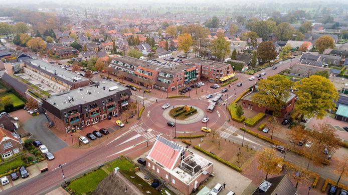 Het centrum van Staphorst.