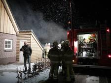Vakantiehuis in Hellendoorn compleet verwoest door brand