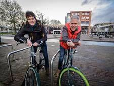 Deelfietsen tussen stad en Wageningen Campus