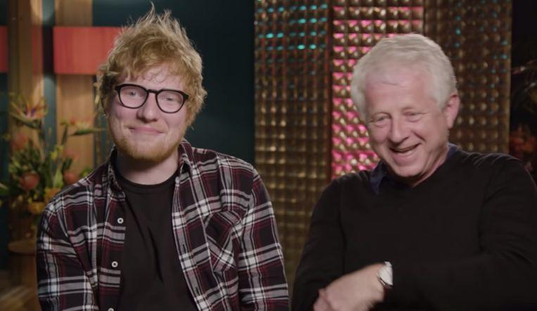 Ed Sheeran en Richard Curtis.