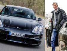 Rallykampioen Walter Röhrl test elektrische Porsche Taycan