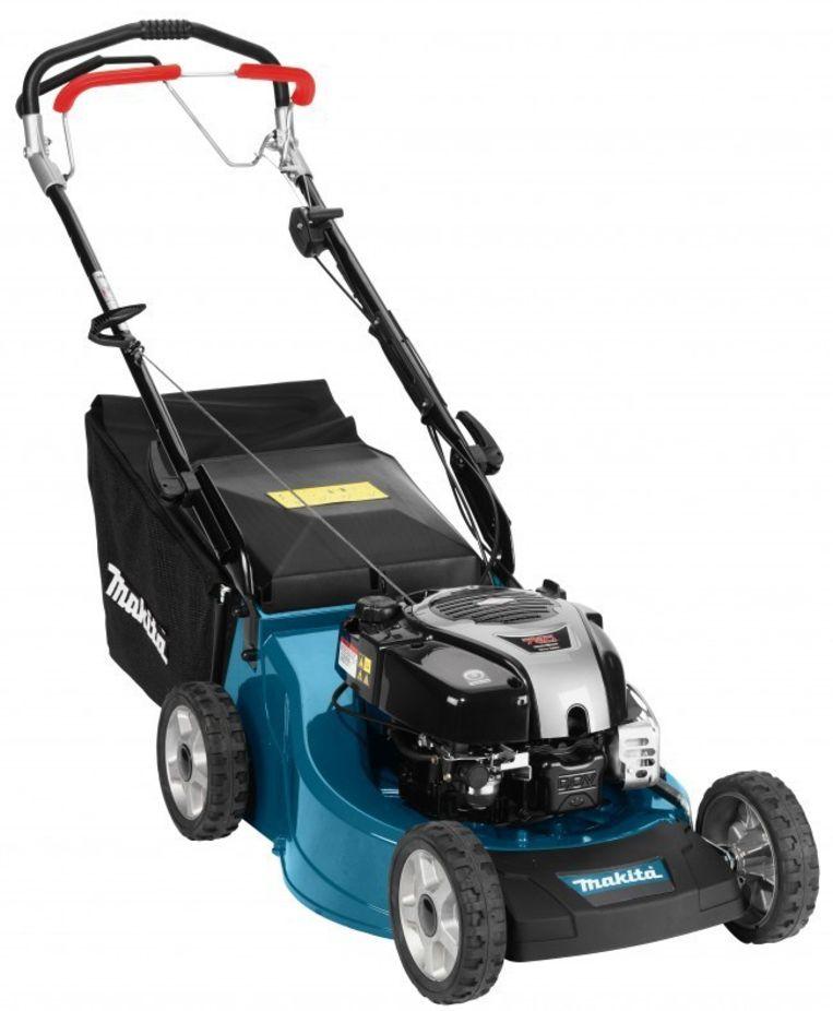Duwmaaiers met een benzinemotor zijn beter geschikt voor een groter gazon.