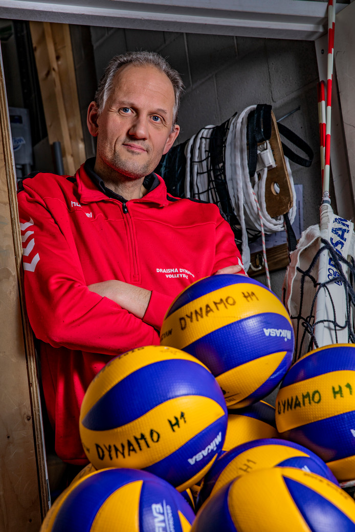 Dynamo-trainer Redbad Strikwerda.