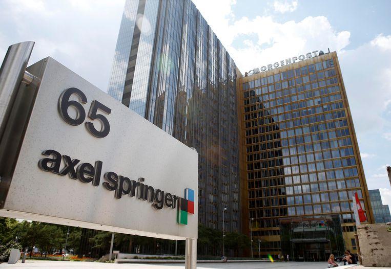 Het hoofdkantoor van de Duitse Uitgeverij Axel Springer in Berlijn. Beeld reuters