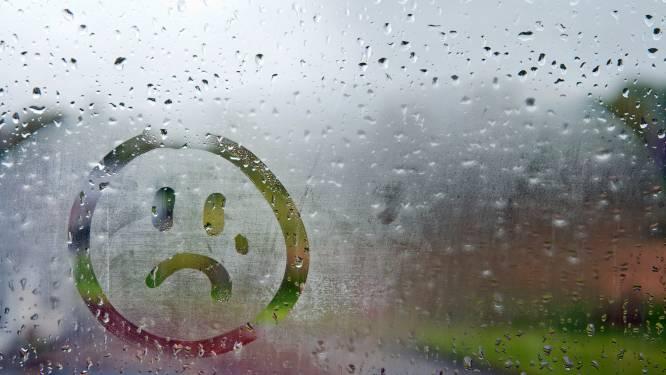 Zwaarbewolkte dag met kans op regen