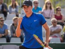 Drontenaar Ryan Nijboer verslaat Robin Haase op NK tennis en staat in halve finale