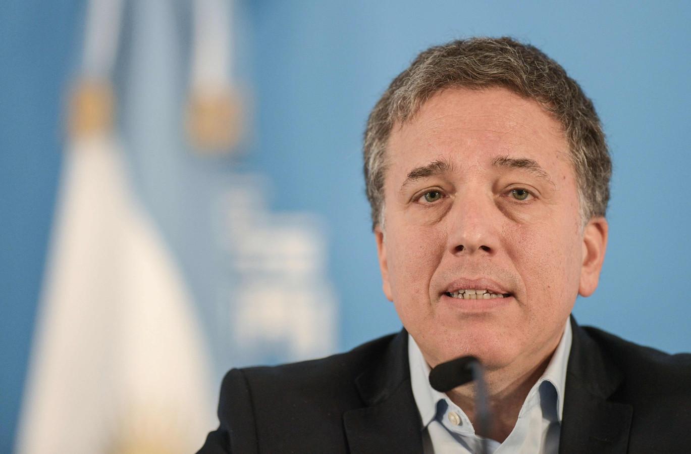 De opgestapte Argentijnse minister van Financiën Nicolas Dujovne.