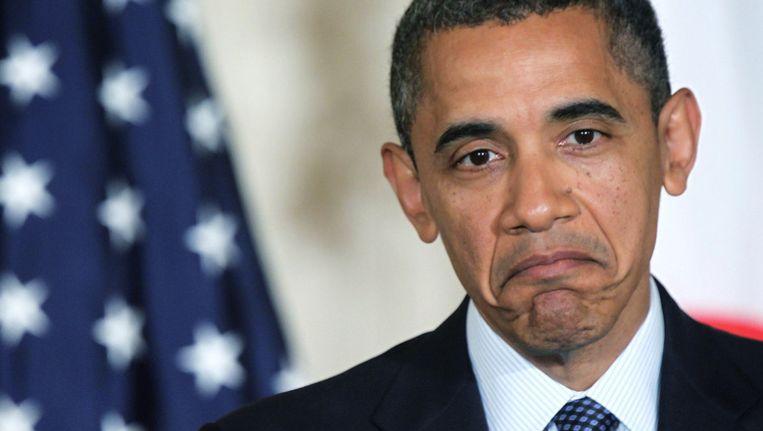 Obama denkt er even over na... Maar hapt toch maar niet toe.