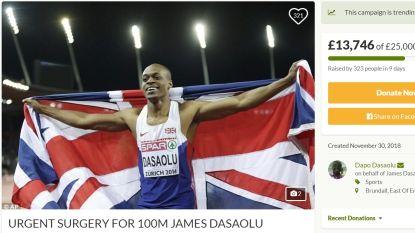 """Spurter en ex-Europees kampioen op de 100m krijgt financiële steun: """"Het Britse publiek heeft mijn carrière gered"""""""
