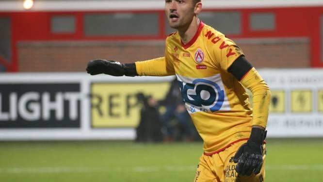 """Marko Ilic grijpt voluit zijn kans in het doel van KV Kortrijk: """"Ik voel geen stress"""""""