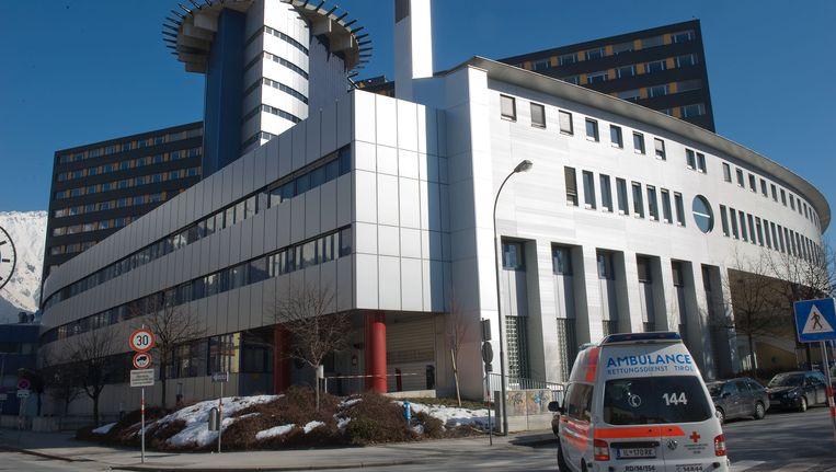 Het Universitaire Ziekenhuis van Innsbruck.