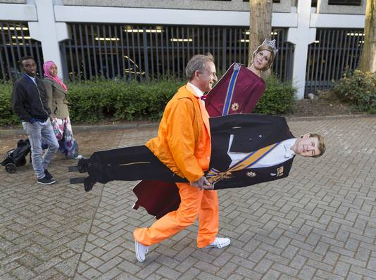 Vlemmix met Maxima en Willem-Alexander