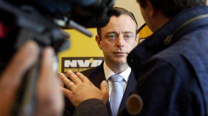 De coalitiedroom van De Wever: N-VA, CD&V en Open Vld