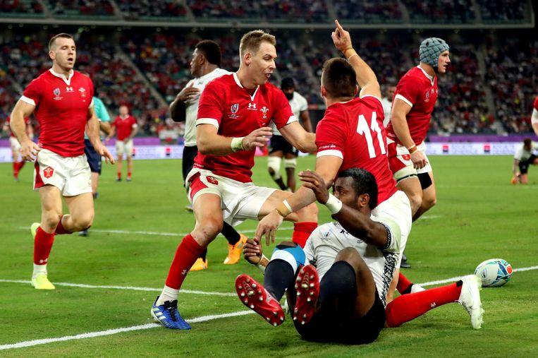 Wales won ook zijn derde groepsmatch.