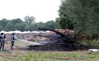 Boete voor boer in Haaren voor verbranden van snoeihout bij code rood