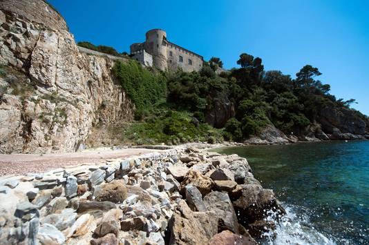 Fort Bregançon, het buitenverblijf van de president.