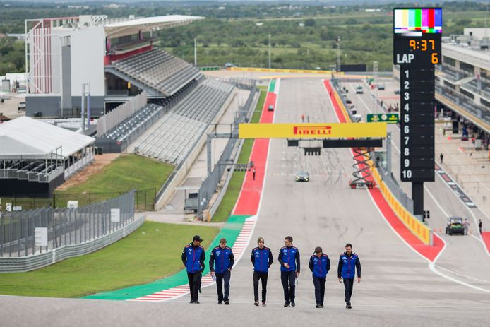 The Circuit of The Americas in Austin, Texas.