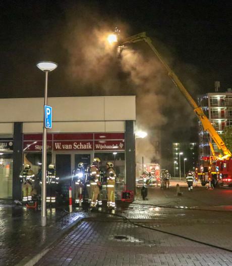 Politie vermoedt opzet bij brand slijterij Vianen
