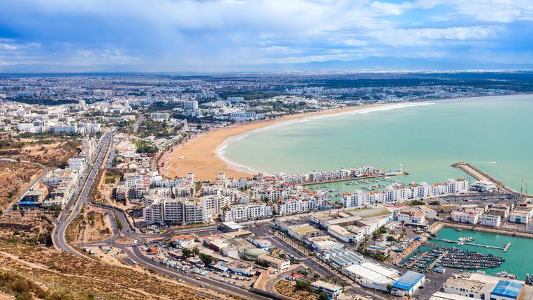 De feiten gebeurden in de havenstad Agadir aan de westkust van Marokko.