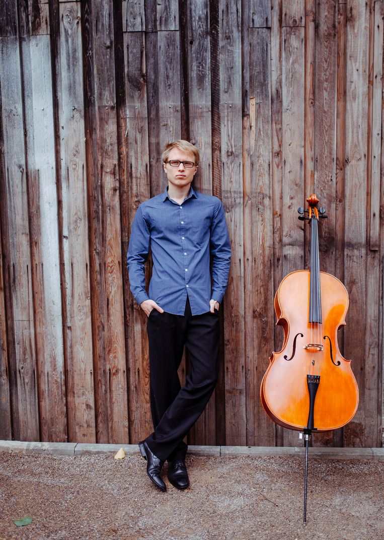 Cellist Mathieu Jocqué uit Eeklo.