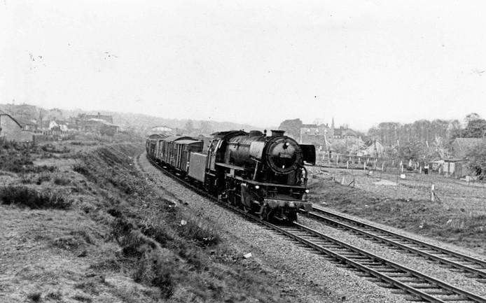 De laatste stoomlocomotief denderde in 1965 over de rails in Groesbeek.