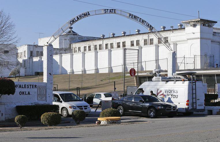 De gevangenis in Oklahoma waar de executie werd uitgevoerd