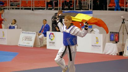 Bjarne Viskens sleept Europese titel Taekwondo in de wacht