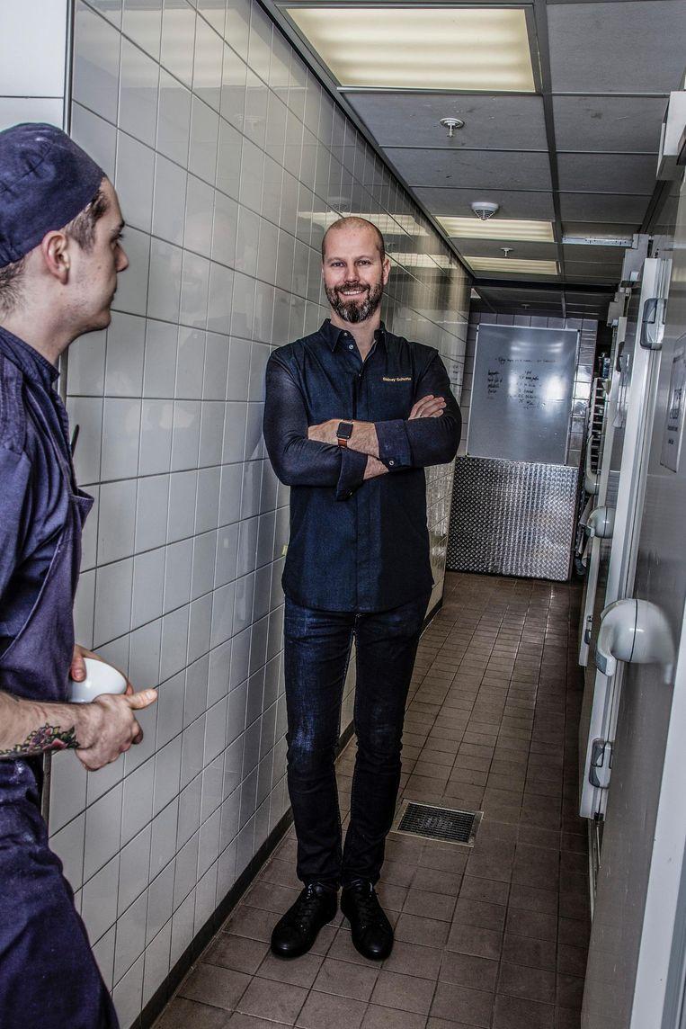 Sidney Schutte: 'Als ik iets wil, fix ik het' Beeld Ernst Coppejans