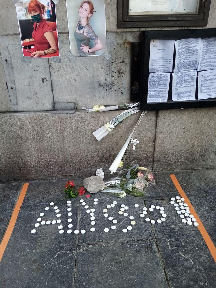 Un hommage a été rendu à Alysson Jadin à Charleroi