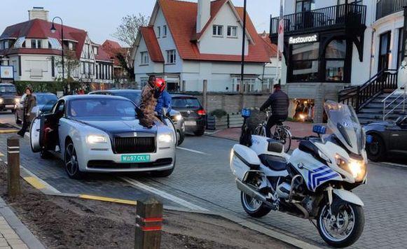 Diagne speelde zijn Rolls Royce kwijt in Knokke.