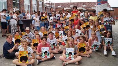 Leerlingen van basisschool Gits maken stripverhaal tegen vooroordelen en extremisme