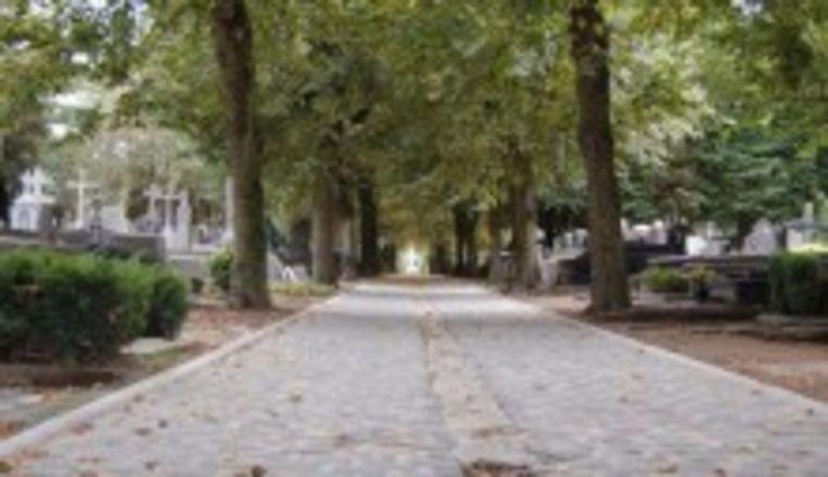 De oude begraafplaats in Roeselare.