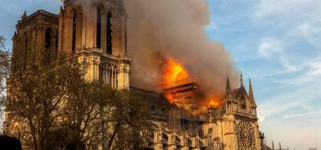Kortsluiting vermoedelijk oorzaak brand Notre-Dame