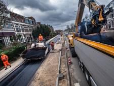 Asfalt voor snelfietspad Sint Annastraat kleurt straks rood