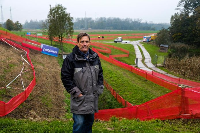 Event manager Ronny Spagnaerts.