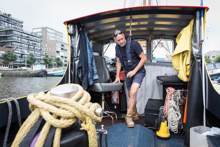 Paul van Meelis: 'Ze zijn altijd blij als ik eraan kom.' Beeld Dingena Mol
