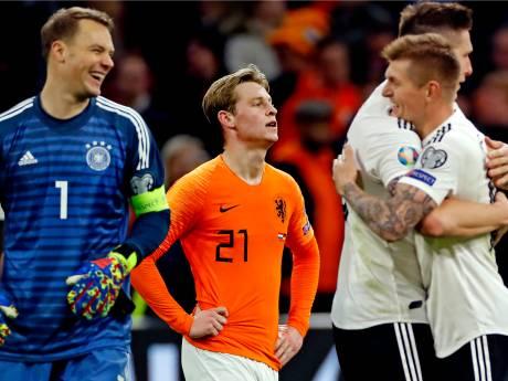 Oranje ondanks fraaie comeback onderuit tegen Duitsland in EK-kwalificatie
