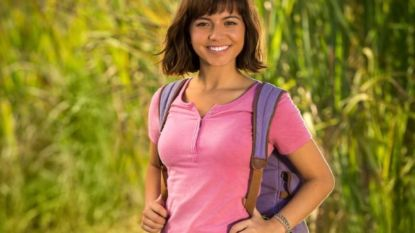 Nickelodeon showt poster live action-film 'Dora The Explorer'