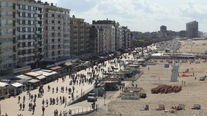 Man springt van veertiende verdieping op zeedijk Oostende
