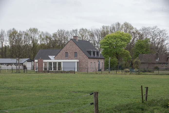 De woning aan de Jan van Havenstraat in Ommel.